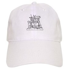 Odin on Hlidskjalf Baseball Cap