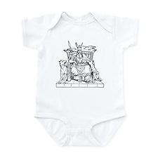 Odin on Hlidskjalf Infant Bodysuit