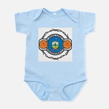 Vermont Basketball Infant Bodysuit