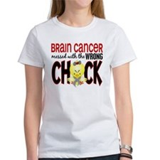 Brain Cancer Messed With Wrong Chick Tee