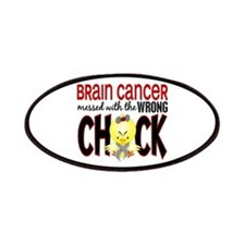 Brain Cancer Messed With Wrong Chick Patches