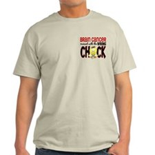Brain Cancer Messed With Wrong Chick T-Shirt