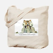 Fox Terriers and Friends Tote Bag