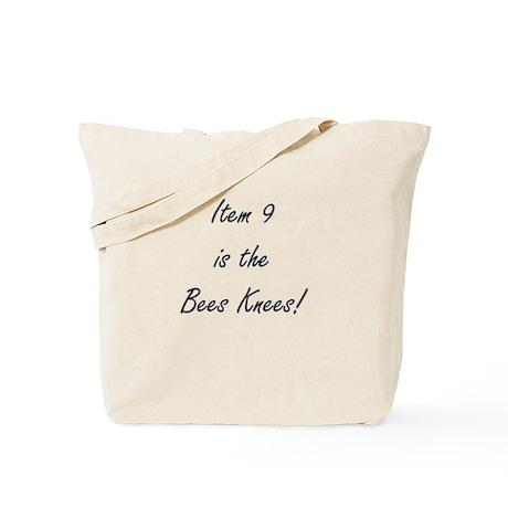Item 9 is the Bees Knees Tote Bag