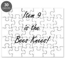 Item 9 is the Bees Knees Puzzle