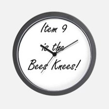 Item 9 is the Bees Knees Wall Clock