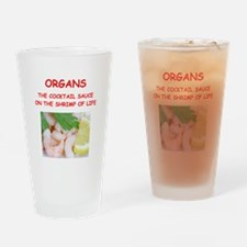 organ Drinking Glass