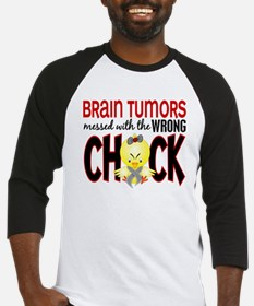 Brain Tumors Messed With Wrong Chick Baseball Jers