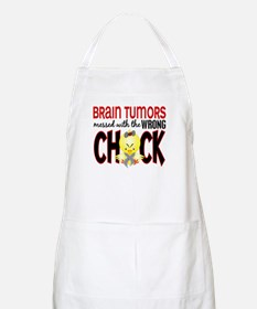 Brain Tumors Messed With Wrong Chick Apron