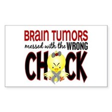 Brain Tumors Messed With Wrong Chick Decal