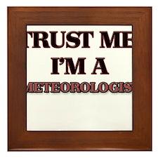 Trust Me, I'm a Meteorologist Framed Tile