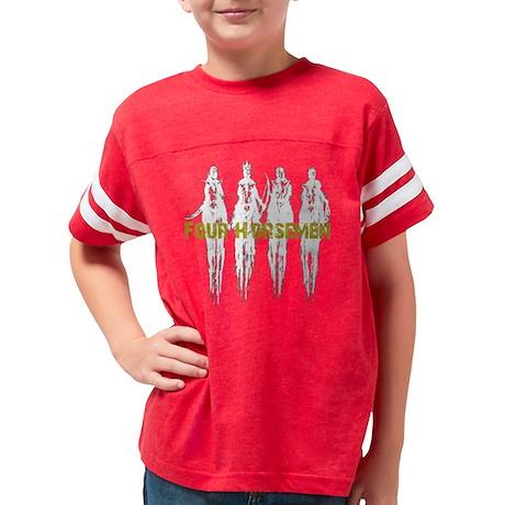 3-4 mhourse Youth Football Shirt