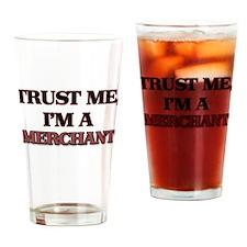 Trust Me, I'm a Merchant Drinking Glass