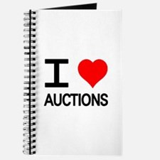 I Love Auctions Journal