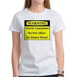 Warning! Overly Caucasian Women's T-Shirt