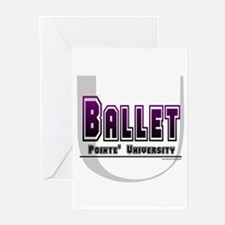 Ballet Pointe' Univ. Greeting Cards (Pk of 10)