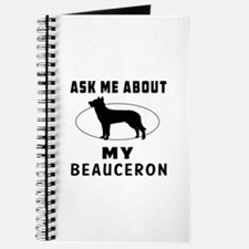 Ask Me About My Beauceron Journal