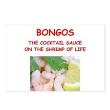 bongo Postcards (Package of 8)