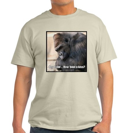 How 'Bout a Kiss Ash Grey T-Shirt