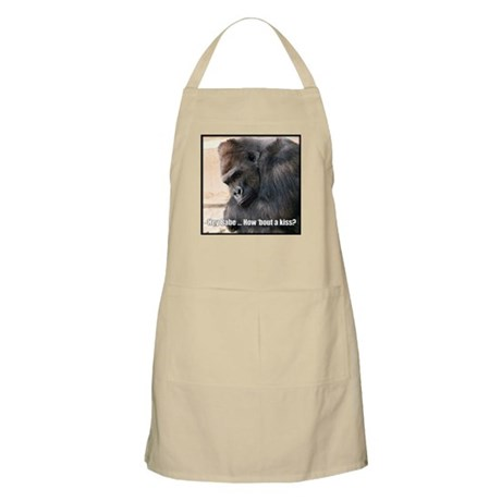 How 'Bout a Kiss BBQ Apron