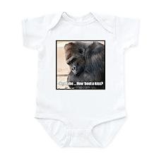 How 'Bout a Kiss Infant Bodysuit