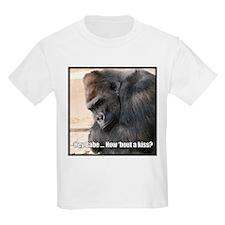 How 'Bout a Kiss Kids T-Shirt