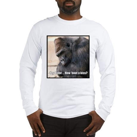 How 'Bout a Kiss Long Sleeve T-Shirt