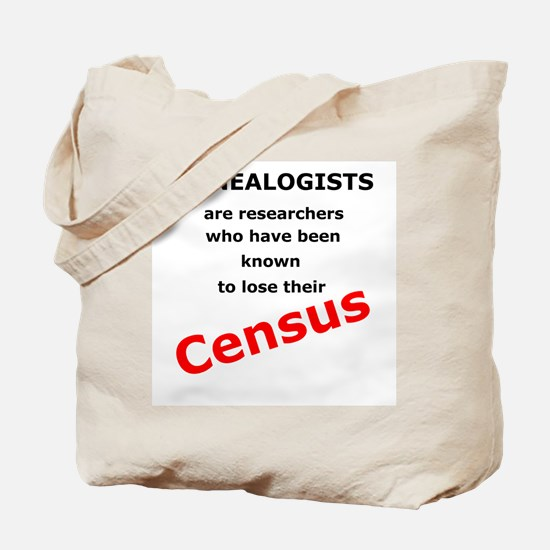 Red Losing Census Tote Bag