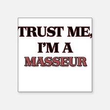Trust Me, I'm a Masseur Sticker