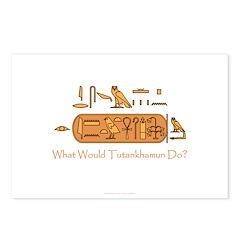 What Would Tutankhamun Do? Postcards (Pkg of 8)