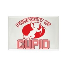 Property of Cupid Rectangle Magnet