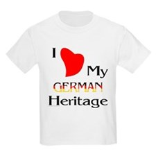 German Heritage Kids T-Shirt