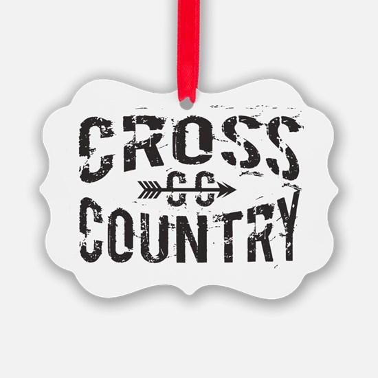 cross country Ornament