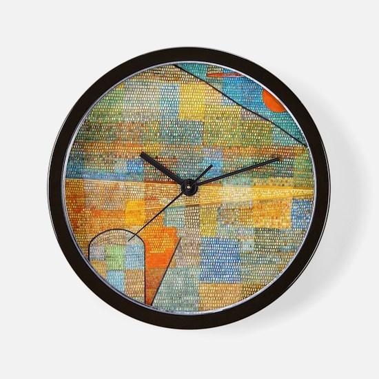 Klee - Ad Parnassus Wall Clock