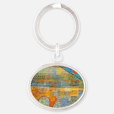 Klee - Ad Parnassus Oval Keychain