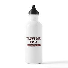 Trust Me, I'm a Lifeguard Water Bottle