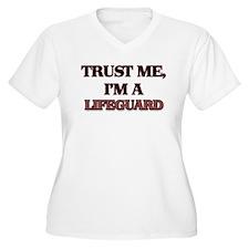 Trust Me, I'm a Lifeguard Plus Size T-Shirt