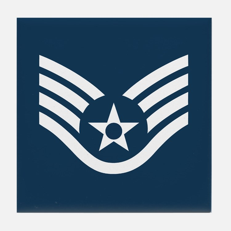Staff Sergeant<BR> Tile Coffee Coaster