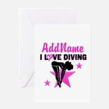 LOVE TO DIVE Greeting Card