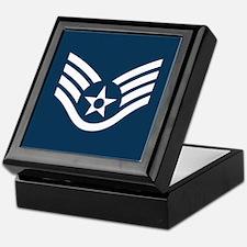 Staff Sergeant<BR> Keepsake Box