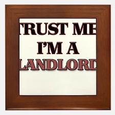 Trust Me, I'm a Landlord Framed Tile