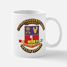 Army - 116th Engr Bn (Combat) SVC Ribbon Mug