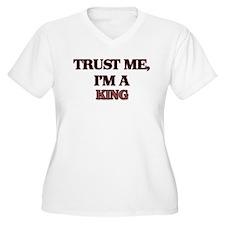 Trust Me, I'm a King Plus Size T-Shirt