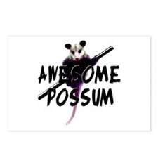Awesome Possum Postcards (Package of 8)