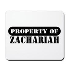Property of Zachariah Mousepad