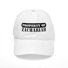 Property of Zachariah Baseball Cap