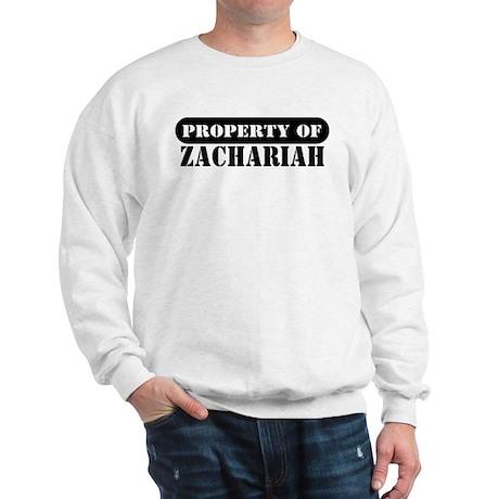 Property of Zachariah Sweatshirt