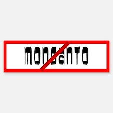 No Monsanto Allowed Bumper Bumper Bumper Sticker