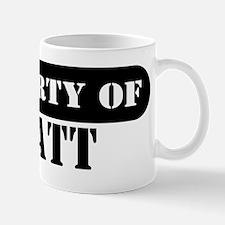 Property of Wyatt Mug