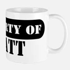 Property of Wyatt Small Small Mug